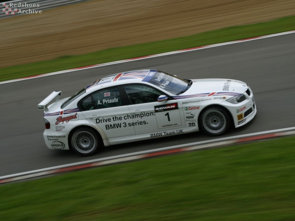 Andy Priaulx - BMW Team UK