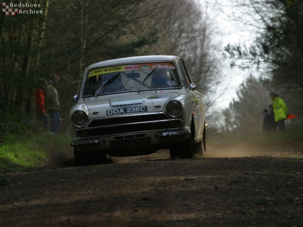 Keith Reed / Kieron Patterson - Ford Cortina GT