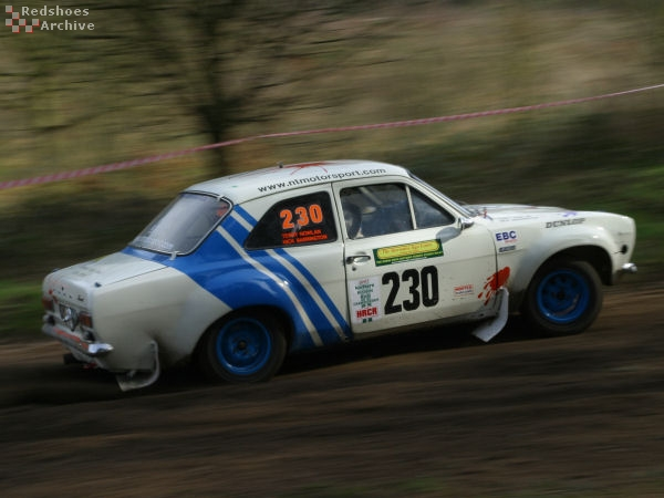 Terry Nowlan / Nick Barrington - Ford Escort RS1600