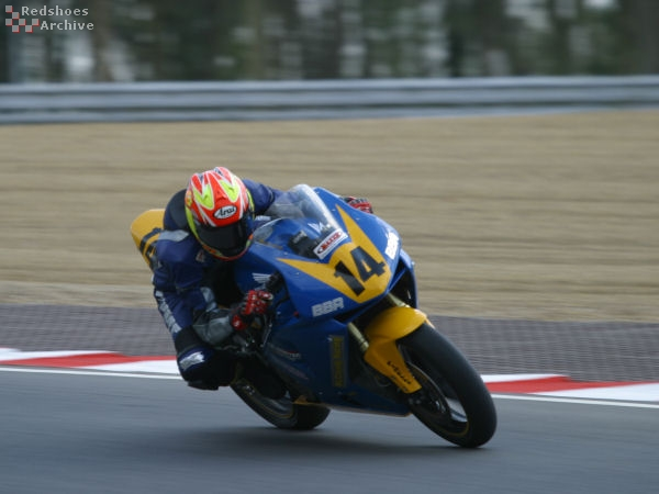 Christian Elkin - BBR Racing Honda