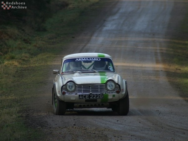 Stephen Hall / Aggie Forster - Triumph TR4