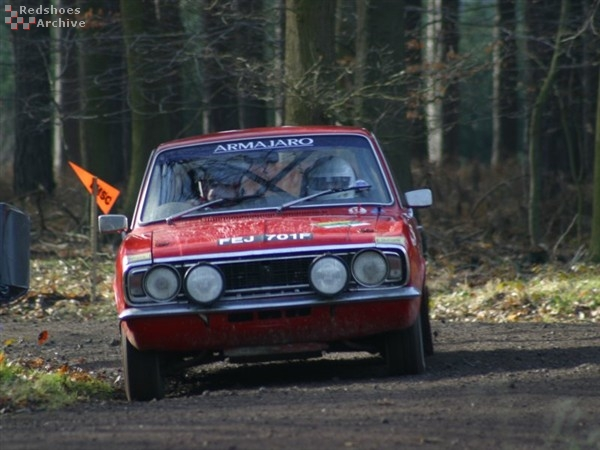 Peter Quinton / Andrew Turner - Ford Cortina GT