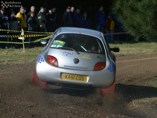 Stephen Humphries / Paul Chislett - Ford Ka Cosworth
