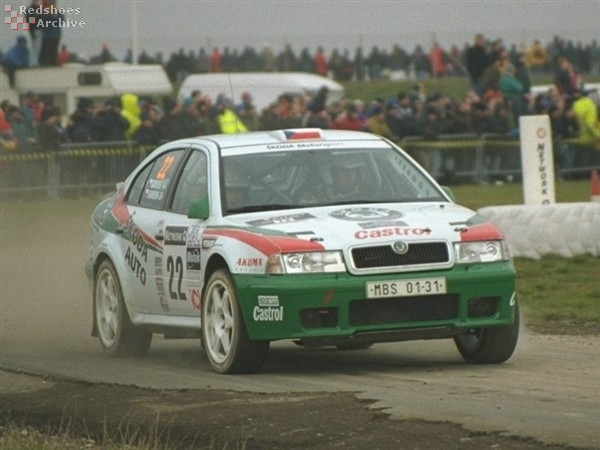 Pavel Sibera - Skoda Octavia kit car