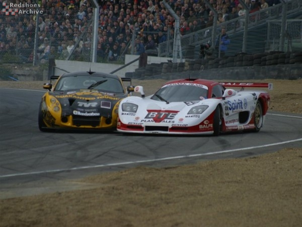 TVR and Mosler tangle