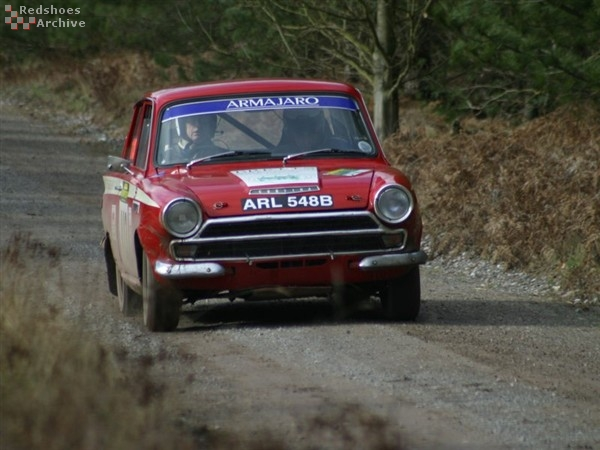 Peter Scott / Richard Poulter - Ford Cortina GT