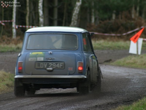 Philip Smith / Barbara Smith - Austin Mini Cooper
