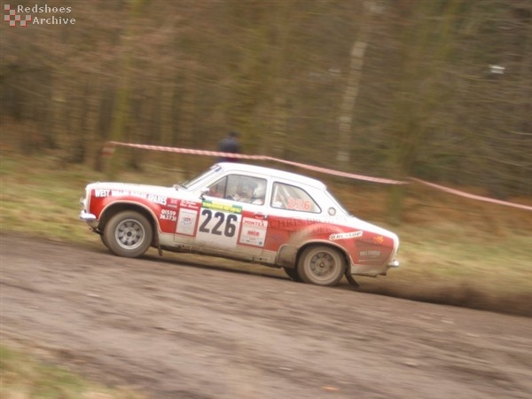 Chris Browne / Liz Jordan - Ford Escort