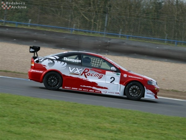 James Thompson - VX Racing Vauxhall Astra Coupe