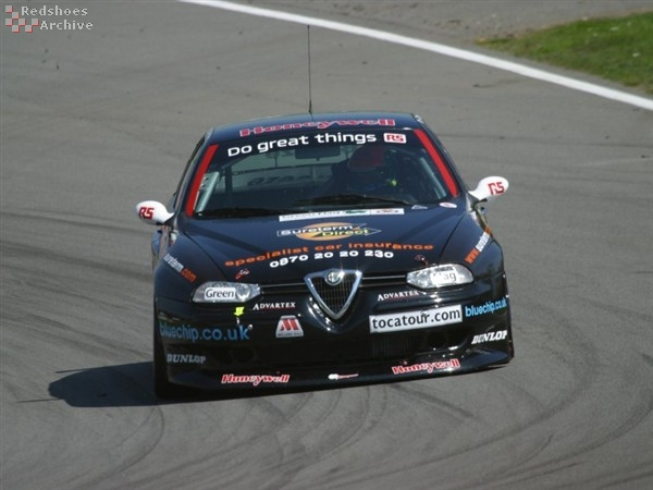 Carl Breeze - Alfa Romeo 156 GTA